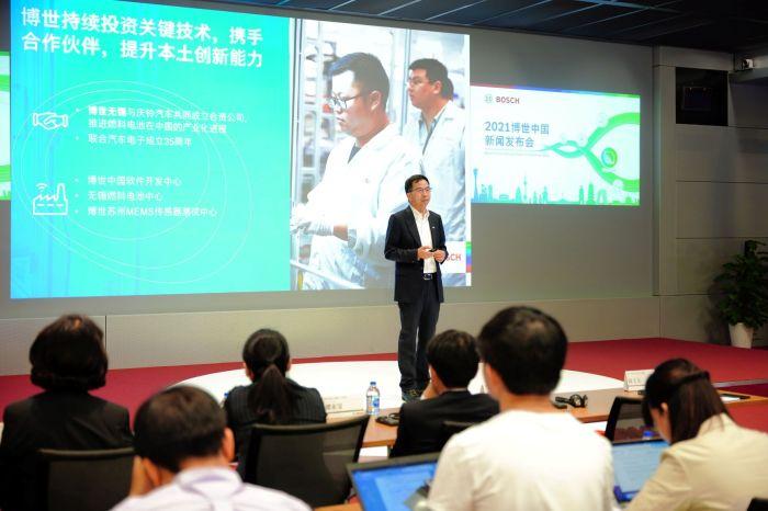 02_博世(中国)投资有限公司总裁陈玉东博士 Dr. Yudong Chen, president of Bosch China