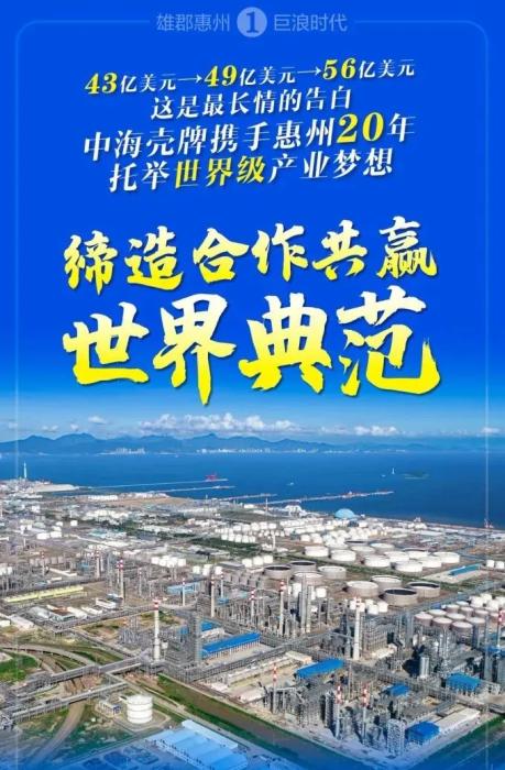 持续加码!总投资396亿,中海壳牌惠州三期乙烯项目成功签约!附项目历史回顾_1589781547567