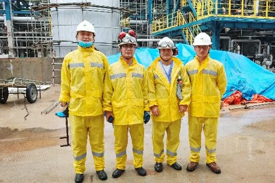 重磅!中化泉州300万吨凝析油加工装置建成中交,现场多图来袭!_1592980830699