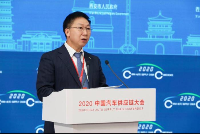 """开幕通稿-""""2020中国汽车供应链大会""""在西安召开2826"""