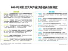 2020年中国新能源汽车行业白皮书