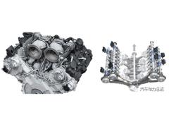 奥迪全新RS7 4.0T发动机(EA825)技术揭秘