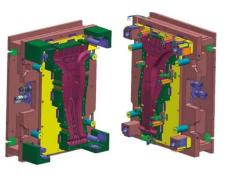 汽车B柱高强度钢热冲压工艺研究
