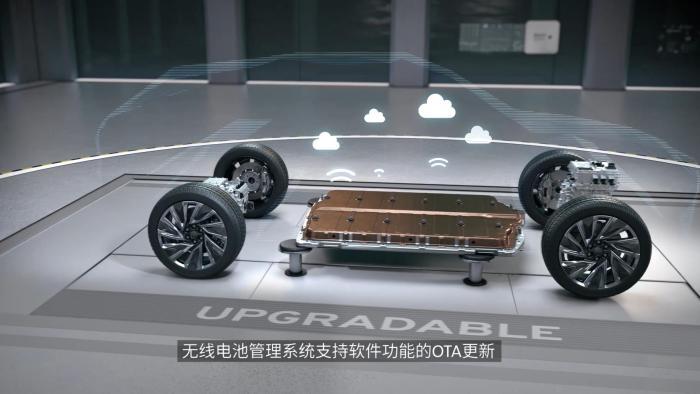 Ultium纯电平台 采用无线电池管理系统