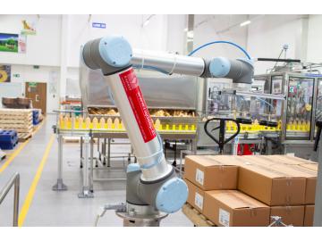 优傲机器人直击码垛痛点利用协作自动化堆积利润