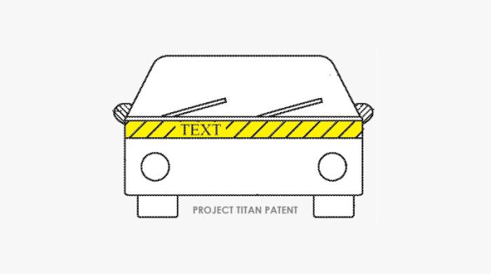 前瞻技术,苹果泰坦项目,外部照明和警告系统,乘员安全系统