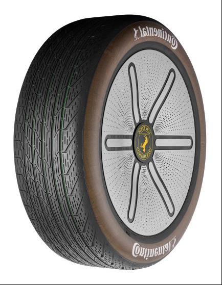 轻量化,大陆轮胎,可再生材料,轮胎材料,Conti GreenConcept概念轮胎,蒲公英橡胶