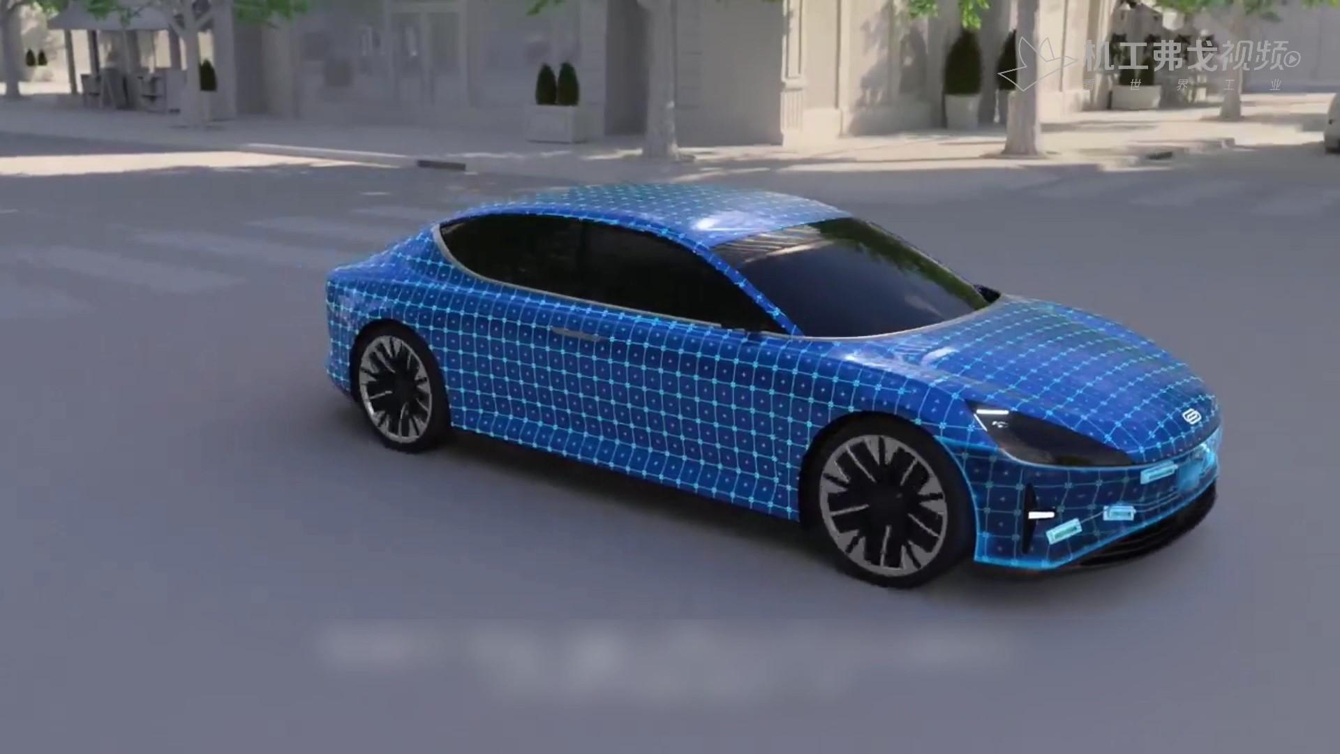 【弗戈工业趣闻】在车身外饰上集成创新的4D成像雷达