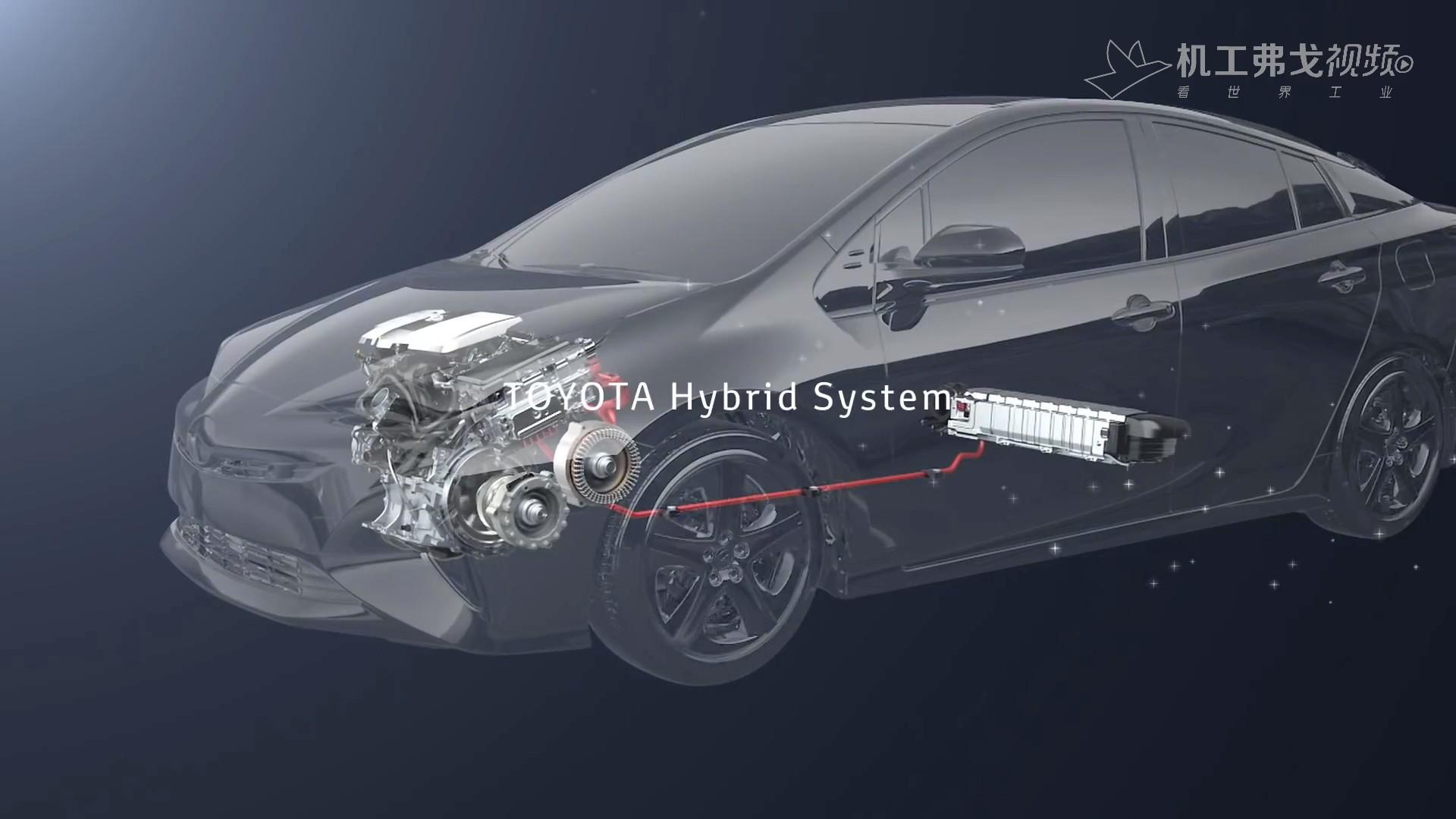 【弗戈工业趣闻】丰田新型混动系统THS Ⅱ是如何工作的