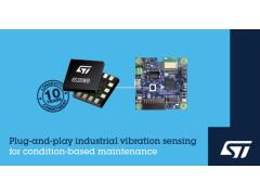 意法半导体助力振动监测在工业4.0中广泛应用