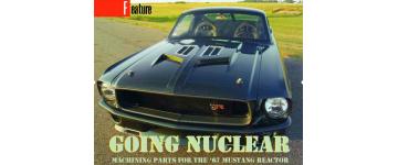 采用GibbsCAM复原改装1967款福特野马Reactor汽车