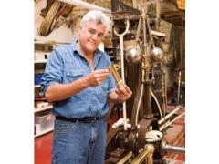 美国著名脱口秀主持人Jay Leo用GibbsCAM修复古老的蒸汽机