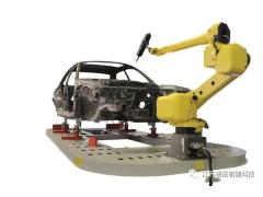 分享 | 一个汽车厂到底有多少台机器人?10万产能需要170台工业机器人