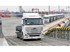 全球首款氢燃料重卡上路,加氢8-20分钟续航400km