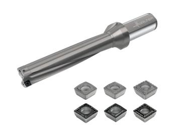 瓦尔特扩展了可转位刀片浅孔钻D4120产品系列