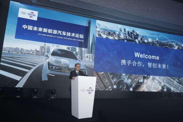 福斯润滑油(中国)有限公司首席执行官朱庆平先生
