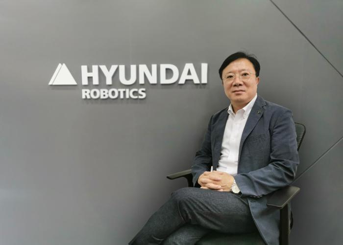 现代机器人总裁崔正旭先生