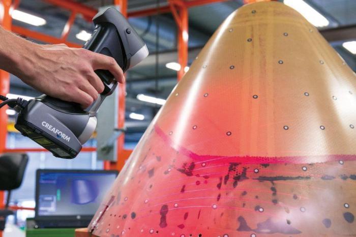 用于控制材料膨胀的 3D 扫描仪和摄影测量系统