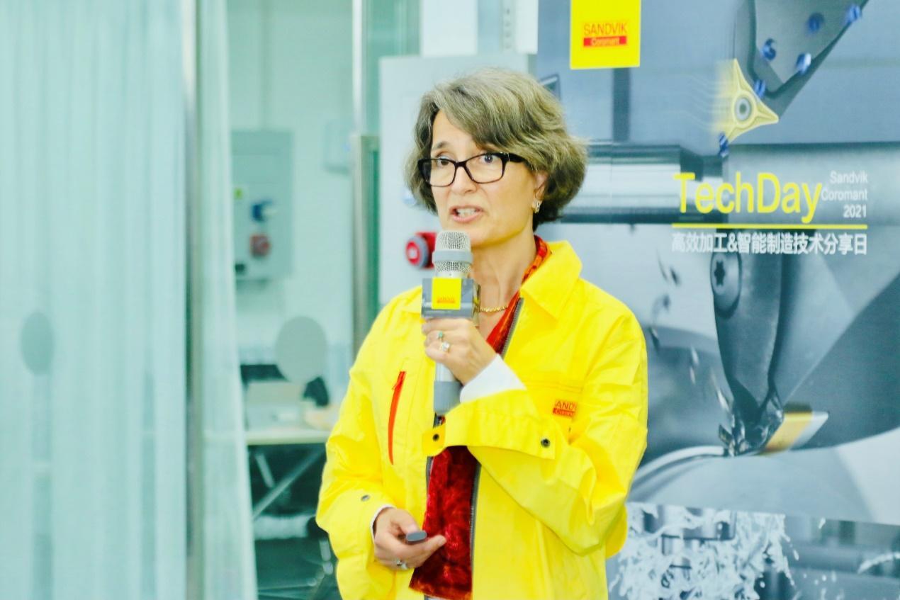 山特维克可乐满北亚区总经理Elisabeth Lindström-Dupuy女士