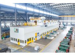 扬锻四点多连杆自动化冲压生产线稳定为特斯拉和大众供货