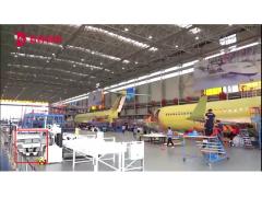 """快仓""""双列辊筒移载机器人""""助力中国大飞机制造"""