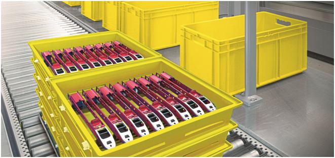 图1  可重复使用的周转箱已经在许多工业领域中证明了自己,尤其是在汽车制造工业领域中