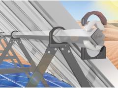 适用于沙漠:免润滑的igubal基座轴承实现太阳能电池板自动调节