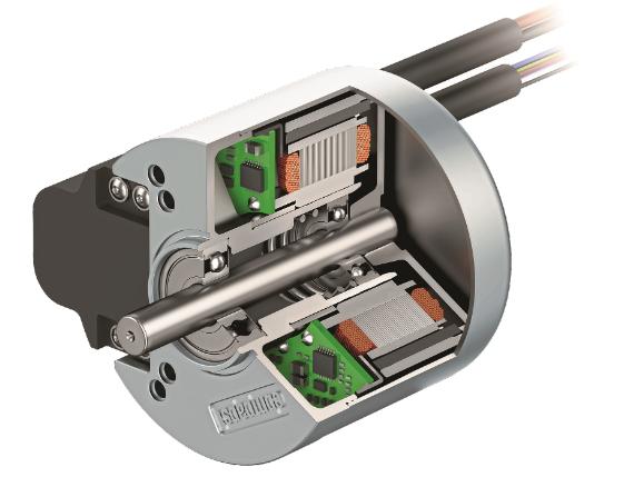 图3 具有集成电子控制设备的EC外转子电机具有很高的效率和功率