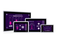 北尔电子推出了全新一代具有完整软件功能的高性价比X2 base v2人机界面