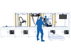 欧姆龙【SCARA机器人i4L系列】无需搭建真实生产环境,也能轻松整合生产线!