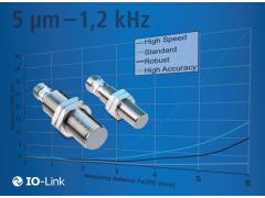 堡盟电感式传感器:高达1.2kHz的测量频率或微米级精度,性能不打折
