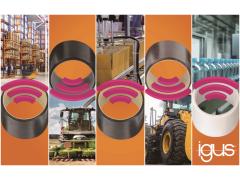智能5倍:igus推出其首个智能滑动轴承目录产品系列