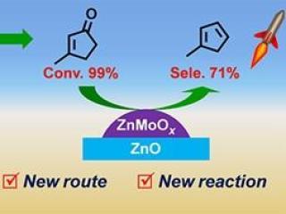 中科院大连化学物理研究所发展纤维素合成甲基环戊二烯新方法