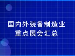 国内外装备制造业重点展会汇总(实时更新 2020.06.28)