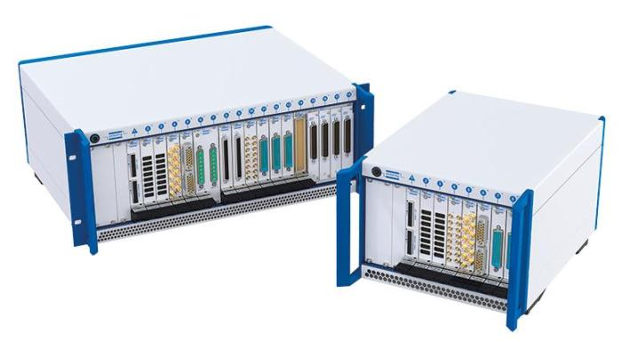pickering-8-and-18-slot-pxie-chassis-with-cards