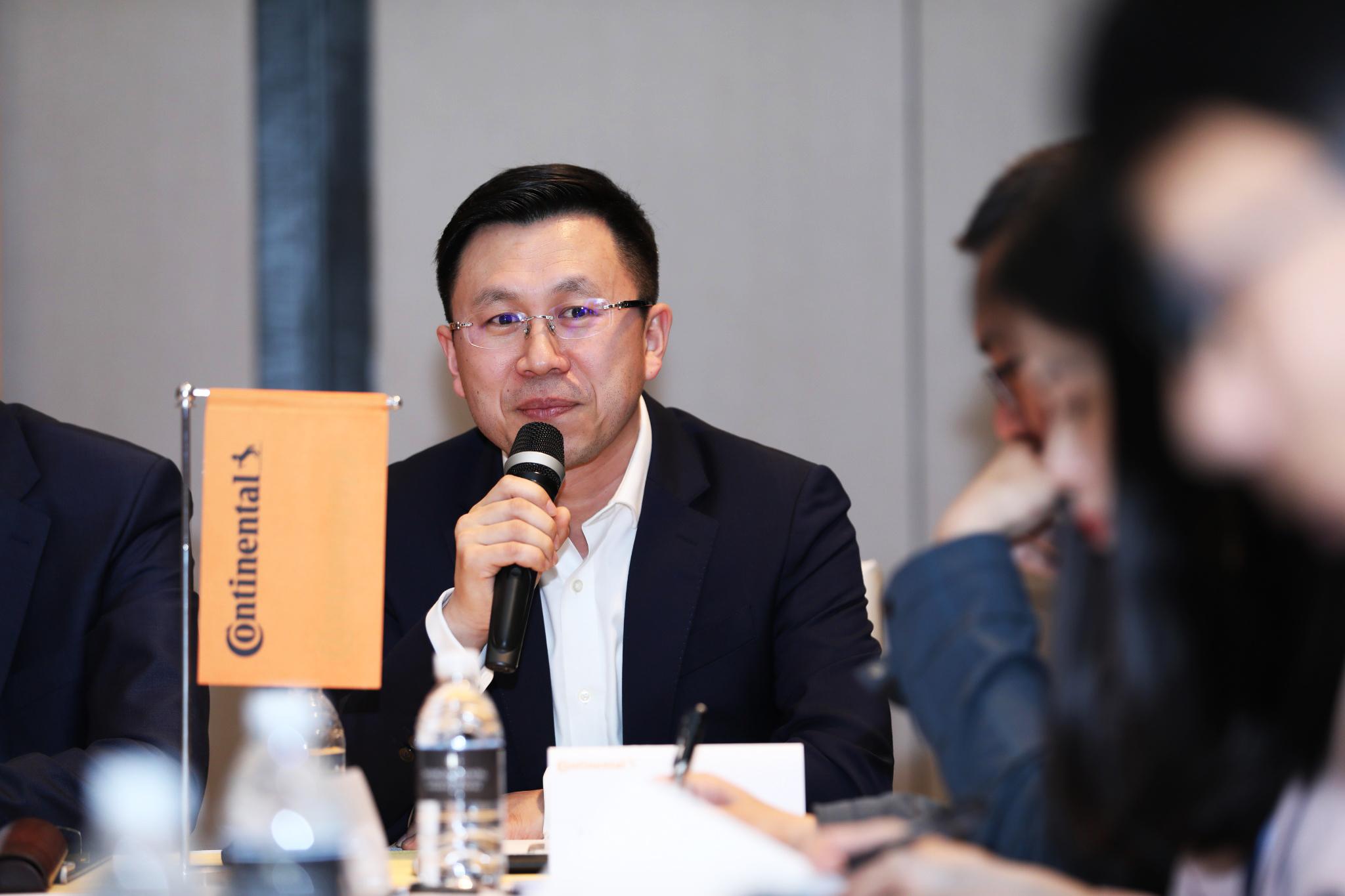大陆集团动力总成混合动力电动车事业部亚洲区负责人曹彦飞先生
