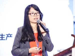 中国恒瑞有限公司销售部部长杨梅香女士