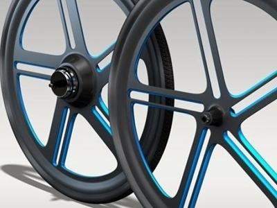 采用专利技术3D打印的碳纤维自行车轮辋